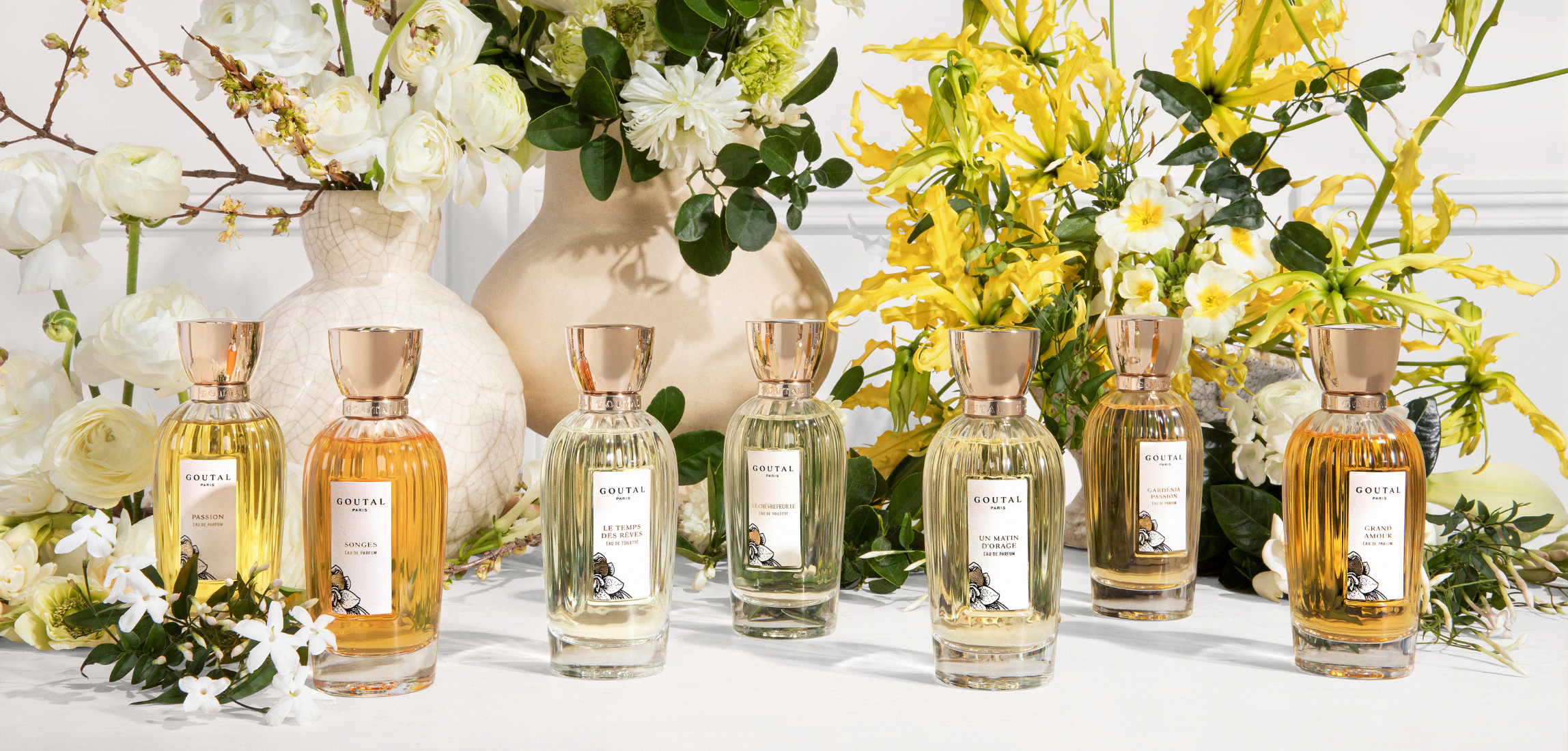 From mother to daughter, Annick & Camille Goutal share a love for white flowers, one of the House's finest know-how.